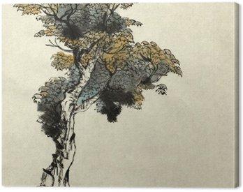 Obraz na Plátně Strom kreslení příklad