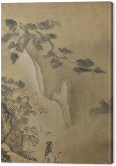 Obraz na Plátně Taoist mudrc v horách