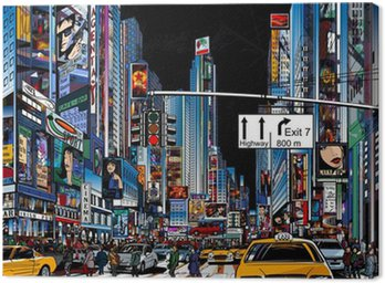 Obraz na Plátně Ulice v New Yorku