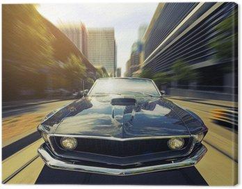 Obraz na Plátně Vintage Cabriolet
