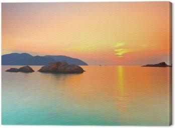 Obraz na Plátně Východ slunce
