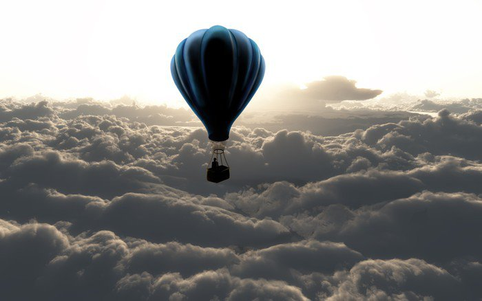 Obraz na Pleksi Balon na niebie - Style