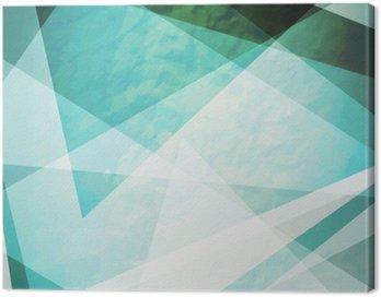 Obraz na Płótnie Abstrakcja retro trójkąty grunge wektora tle