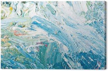 Obraz na Płótnie Abstrakcyjna grafika malarstwo
