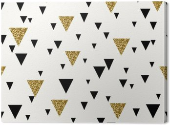 Obraz na Płótnie Abstrakcyjne geometryczne powtarzalne wzór