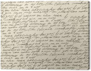 Abstrakcyjne pisma na starym zabytkowe papierze. wzór powtarzalne, vec
