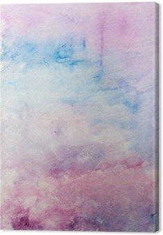 Obraz na Płótnie Abstrakcyjne tło akwarela