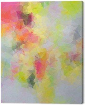 Obraz na Płótnie Abstrakcyjne tło trójkąt