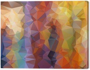Obraz na Płótnie Abstrakcyjne tło wielokątna