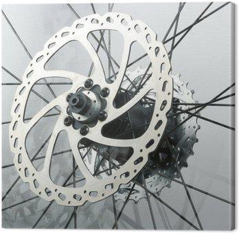 Obraz na Płótnie Abstrakcyjne tło z części rowerowych