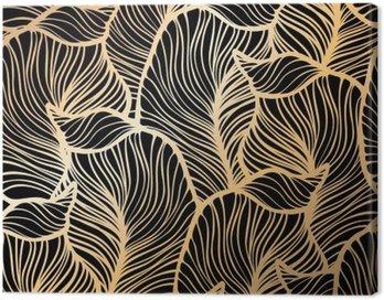 Obraz na Płótnie Adamaszek bezszwowe kwiatowy wzór. Tapeta royal