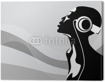 Obraz na Płótnie Afrykańska kobieta