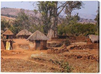 Obraz na Płótnie Afrykańska wioska