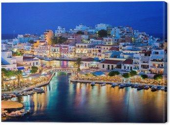 Obraz na Płótnie Agios Nikolaos, Kreta, Grecja