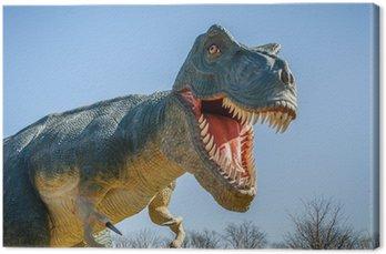 Obraz na Płótnie Agresywne T-Rex