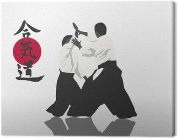 Obraz na Płótnie Aikido