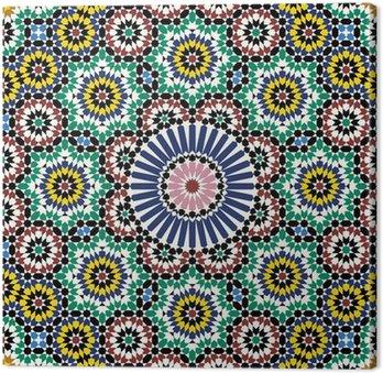 Obraz na Płótnie Akram Maroko Wzór Two