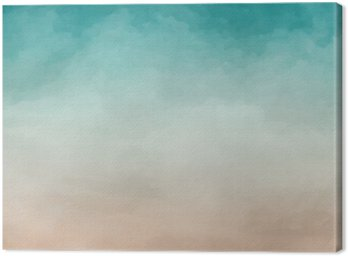 Obraz na Płótnie Akwarela abstrakcyjna tekstury