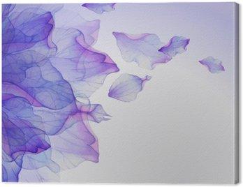 Obraz na Płótnie Akwarela kwiatowe wzory rundy.