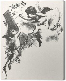 Obraz na Płótnie Angels - odcienie szarości