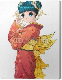 Obraz na Płótnie Anime