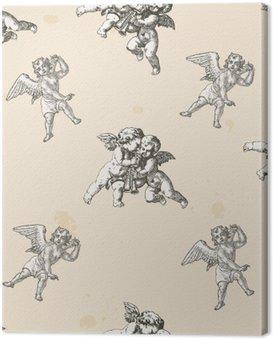 Anioły wzór - wzór zawarte w polu próbki