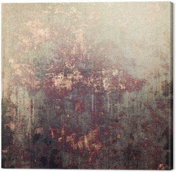 Obraz na Płótnie Antique vintage tle z teksturą. Z różnych wzorów kolor: żółty (beżowe); brązowy; szary; czarny