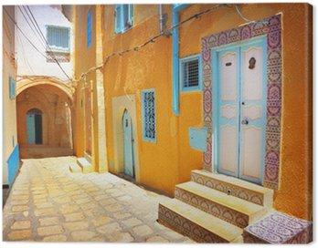 Obraz na Płótnie Arabskiej ulicy