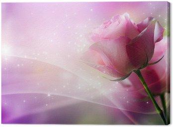 Obraz na Płótnie Art Design Roses. Karta Zaproszenie