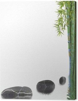 Obraz na Płótnie Asian charakter koncepcji, dobre samopoczucie, relaks