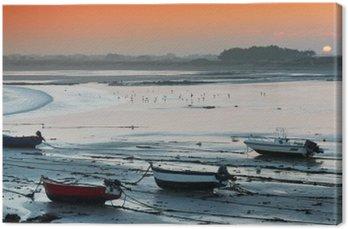 Obraz na Płótnie Aurore sur la Baie d'Audierne