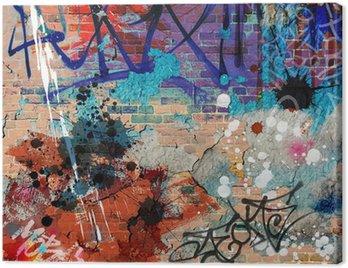 Obraz na Płótnie Bałagan? ciany graffiti