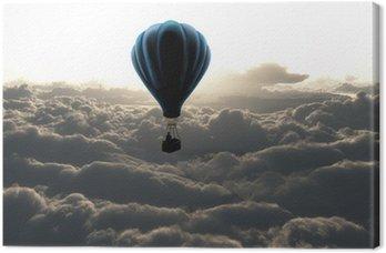 Obraz na Płótnie Balon na niebie