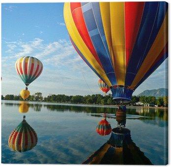 Obraz na Płótnie Balonów na ogrzane powietrze