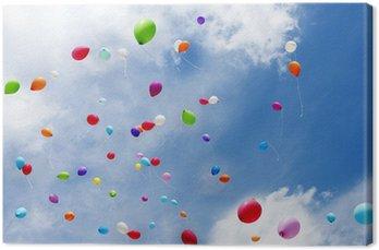 Obraz na Płótnie Balony balony, zabawki