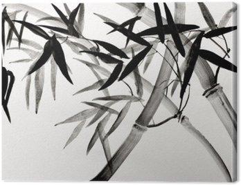 Obraz na Płótnie Bambusowy gaj