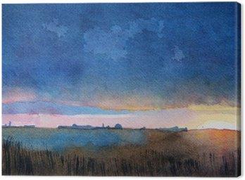 Obraz na Płótnie Barwny krajobraz