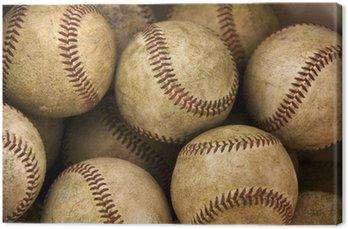 Obraz na Płótnie Baseballs