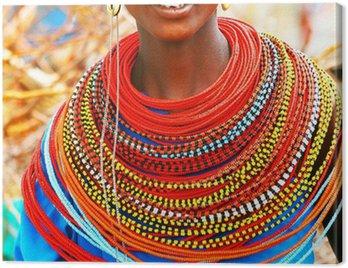 Obraz na Płótnie Beautiful African lady