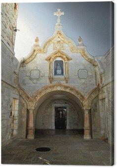 Obraz na Płótnie Betlejemska. Kościół groty mleka
