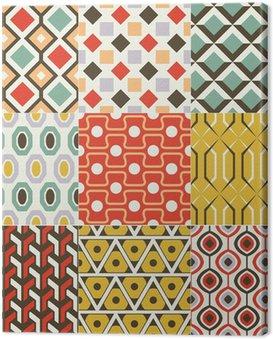 Obraz na Płótnie Bez szwu abstrakcyjny wzór geometryczny