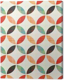 Obraz na Płótnie Bez szwu geometryczny wzór w