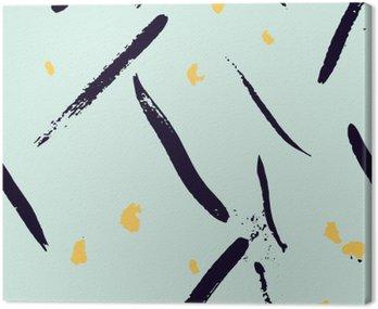 Bezproblemowa abstrakcyjne ręcznie rysowane pociągnięcie kształtuje wzór tekstury. Proste nowoczesne geometryczne druku Chevron w wektorze. Hipster stylowy wzór.