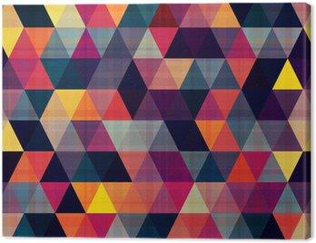 Obraz na Płótnie Bezszwowe tło trójkąt