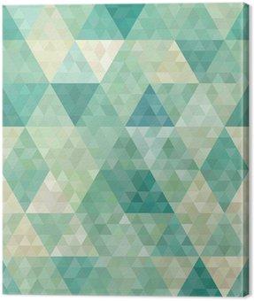 Obraz na Płótnie Bezszwowe tło z abstrakcyjnym ornamentem geometrycznym
