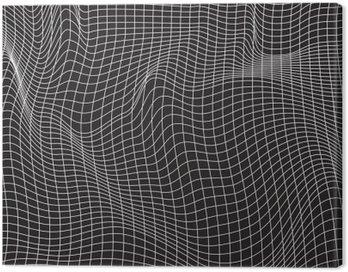 Obraz na Płótnie Białe linie, skład abstrakcji, góry, wektor wzór tła