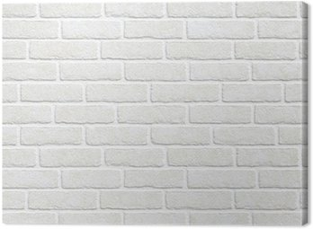 Obraz na Płótnie Białym tle ceglanego muru
