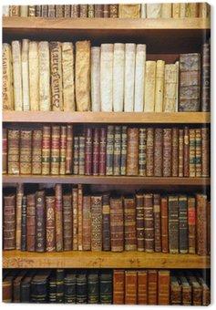 Obraz na Płótnie Biblioteka, księgarnia, stare książki