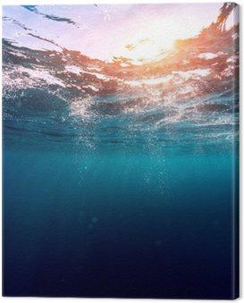Obraz na Płótnie Błękitne morze