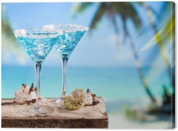 Obraz na Płótnie Blue drink